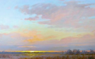 Workshop Offered:  Painting Skies and Dramatic Light with Sara Linda Poly